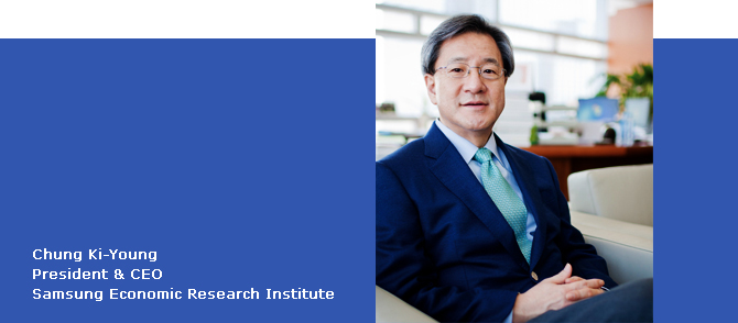 Chung Ki-Young President & CEO Samsung Economic Research Institute